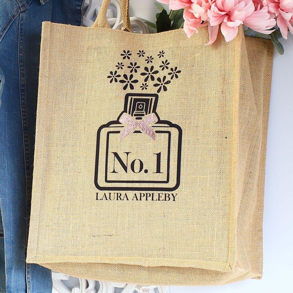 Jute Tote bag - Perfume