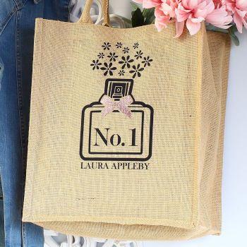 Jute Tote bag - Perfume (B)