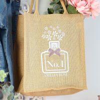 <!-- 074-->  Jute Tote bag - Perfume (W)