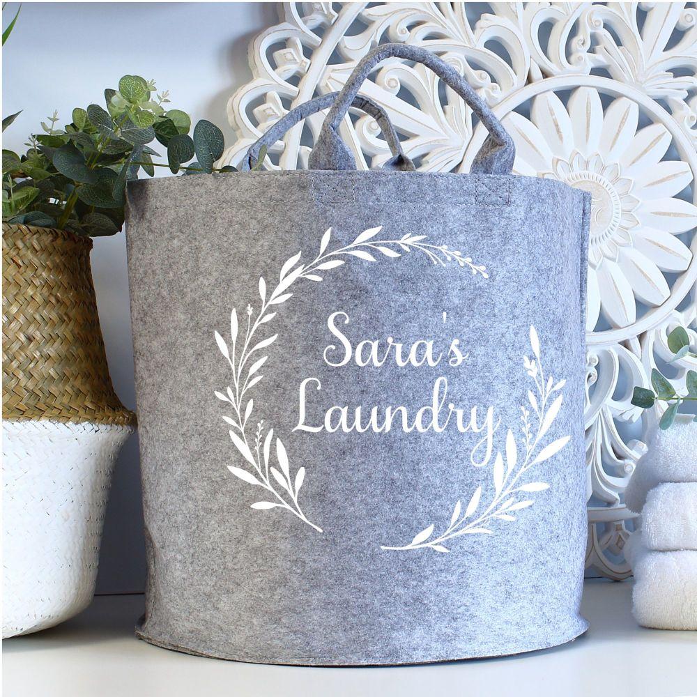 Large felt storage - Laundry