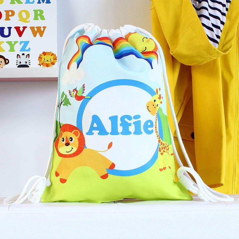 Personalised Gym bag - Safari