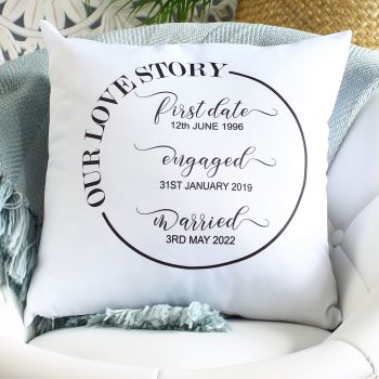 Cushion - Love Story
