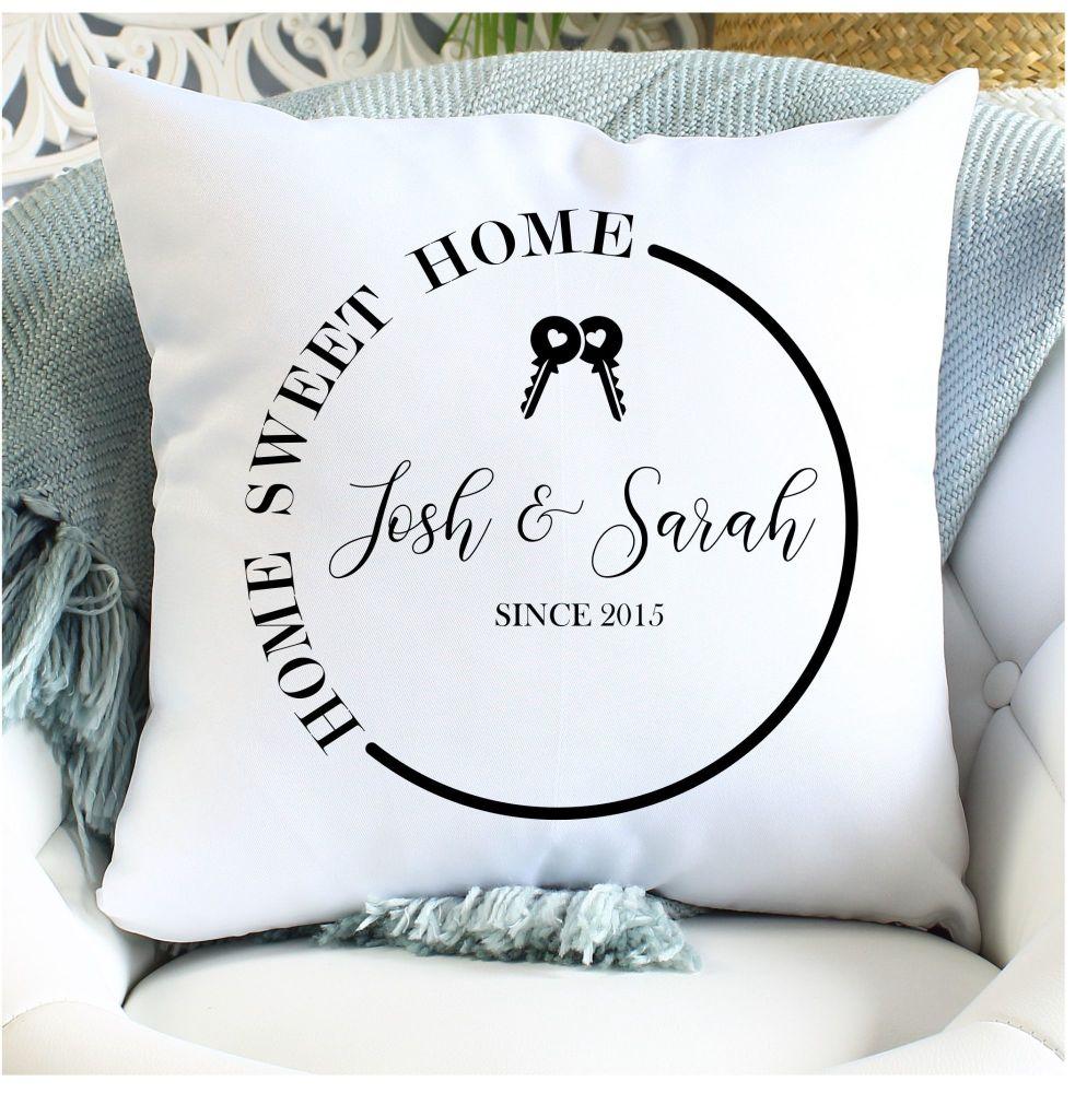 <!-- 081 --> Cushion - Home Sweet Home