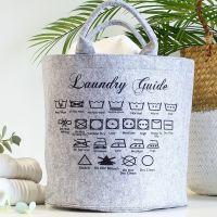Felt storage - Laundry symbols