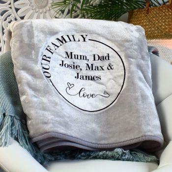 Snuggle blanket  - Family