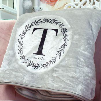 Snuggle blanket  - Monogram