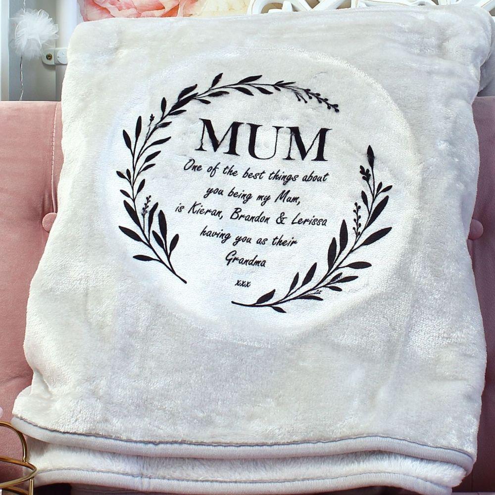 <!-- 110-->Snuggle blanket  - Mum