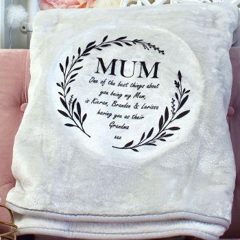 Snuggle blanket  - Mum