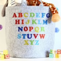 Felt storage - Alphabet