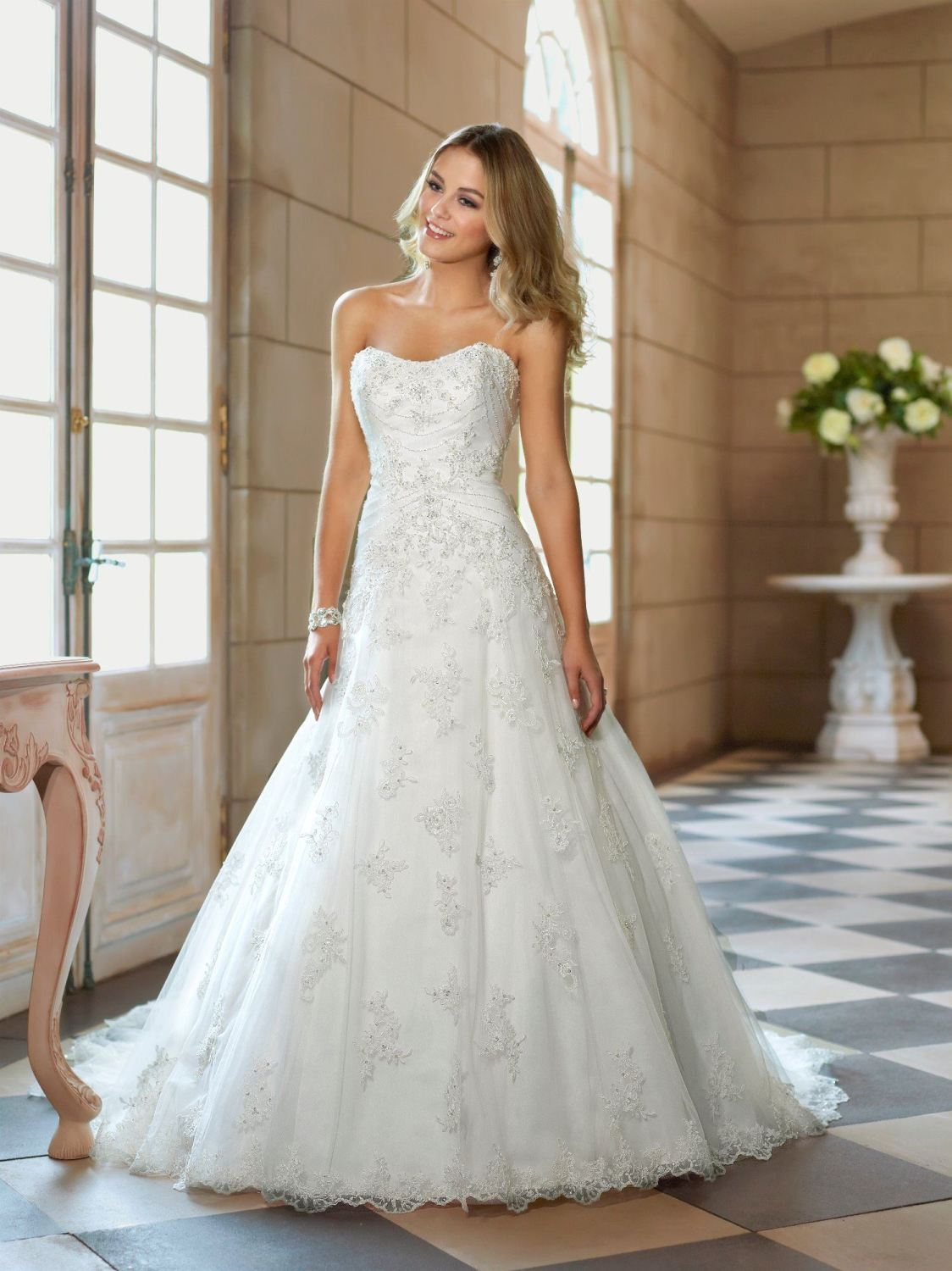 New Stella York Lace A-Line Gown - Style 5756 - Size 14