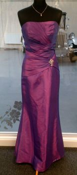 Purple Opulecsant Hilary Morgan Bridesmaid Dress