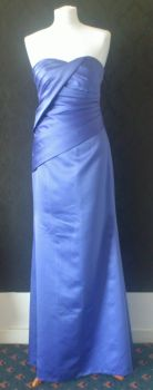 NEW Stunning Purple Bridesmaid / PROM / Evening Dress - Size 8
