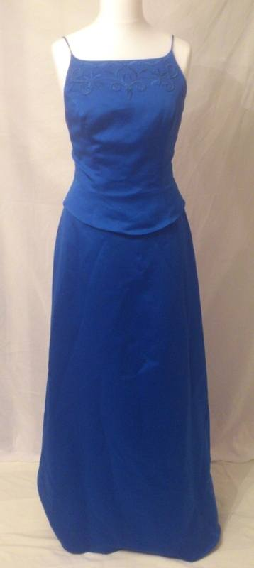 New Forever Yours Royal Blue Bridesmaid Dress Size 1416