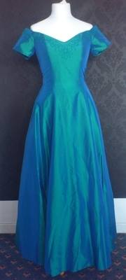 John Charles Turquoise Bridesmaid Dress - Size 12