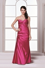 BM Sale Dress - D'Zage - DAB11255-FUCHSIA-2