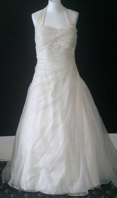 Gorgeous Phill Collins Collection Wedding Gown - Size 12/14