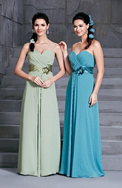 BM Sale Dress - D'Zage - dab11400-pistachio-pistachio & teal-teal-1