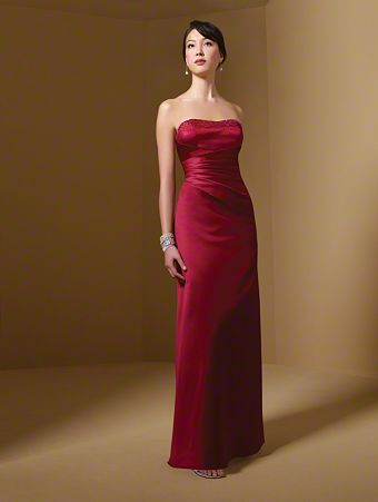 Alfred Angelo Gorgeous Beaded Bridesmaid Dress - Size 16
