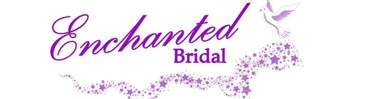 Enchanted Bridal & Evening Wear, site logo.
