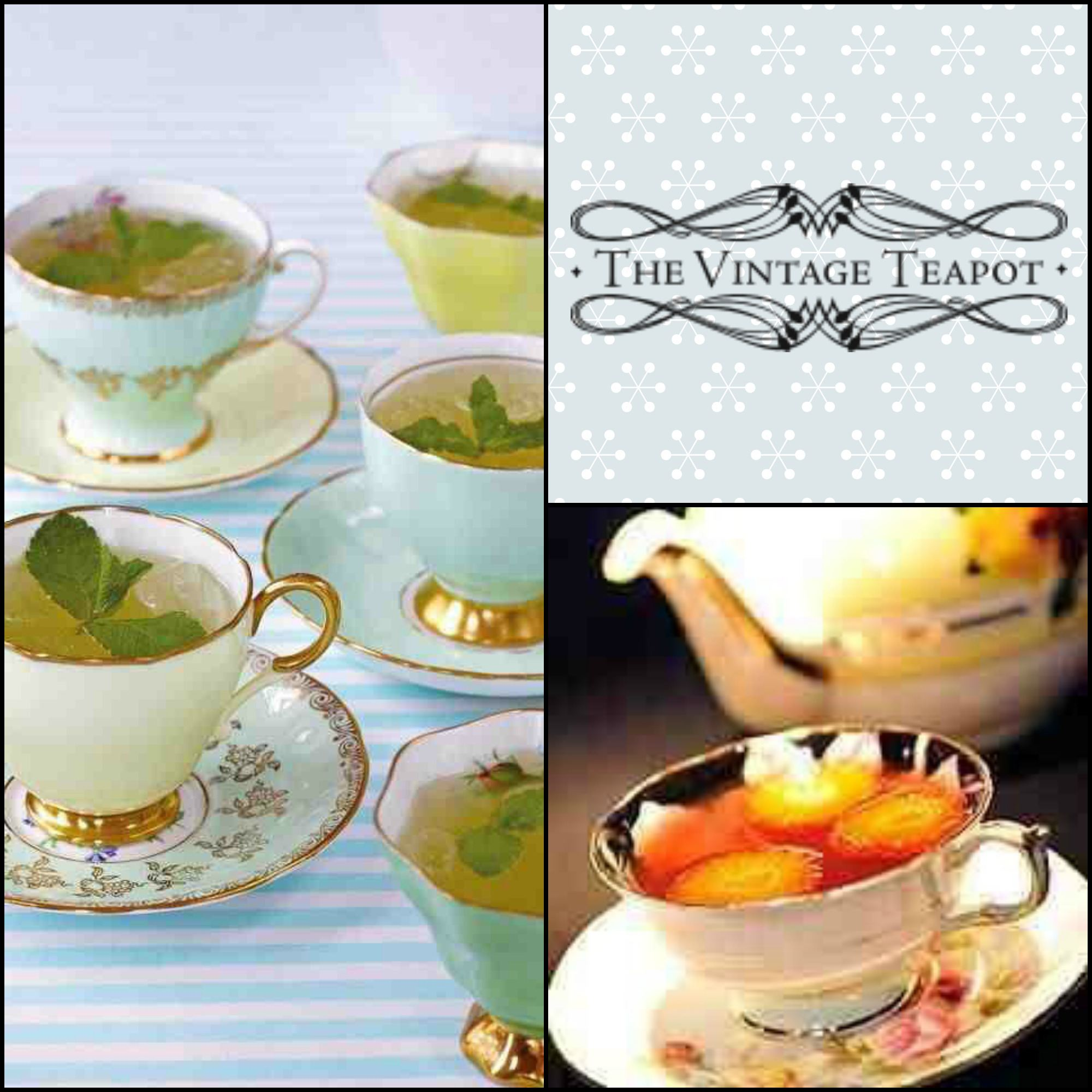 drinks in teacups