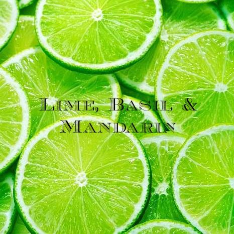 Lime, Basil and Mandarin