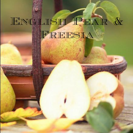 English Pear and Freesia