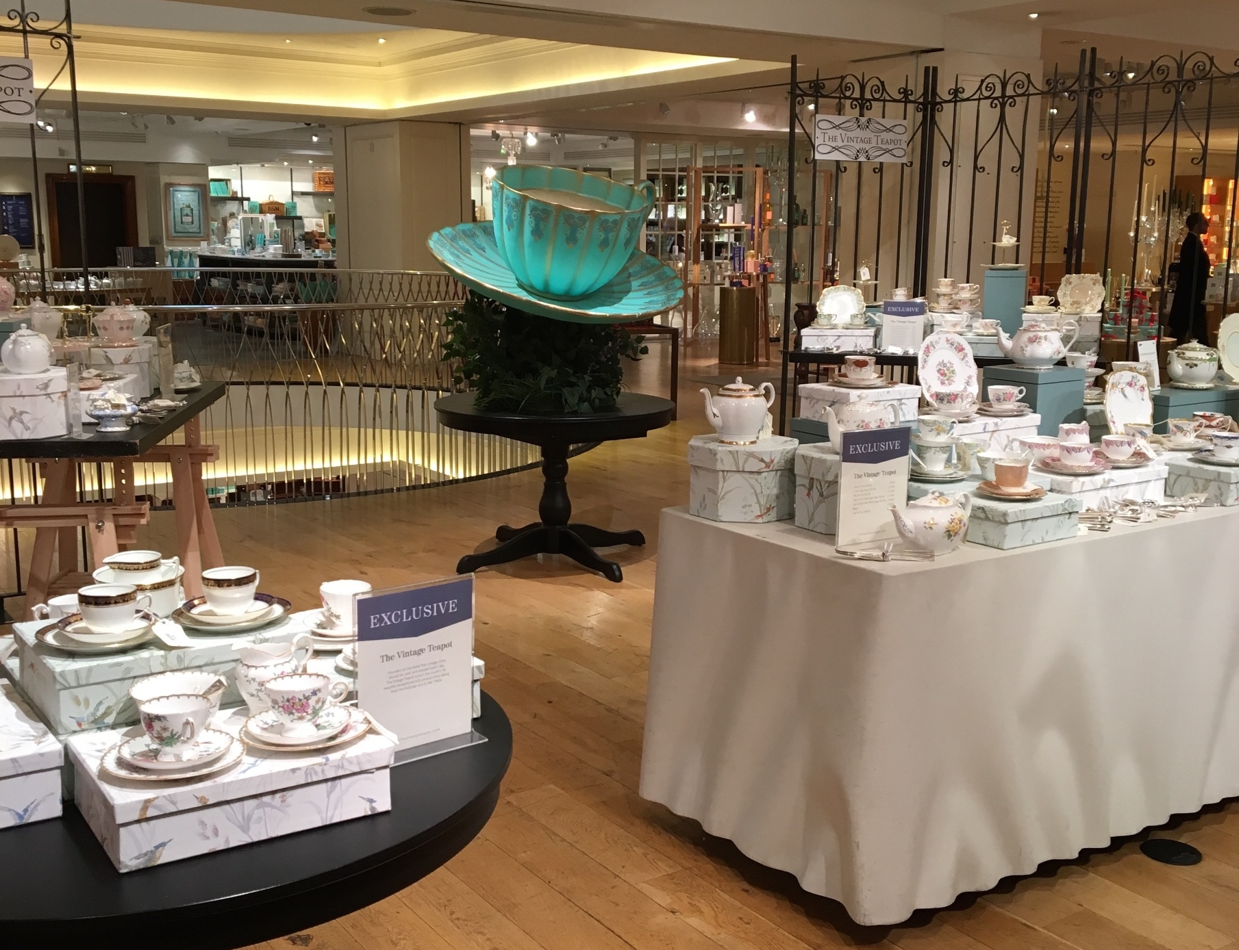 The Vintage Teapot at Fortnum & Mason