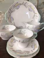 Shelley, English bone china, Complete tea set for six