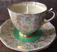 Plant Tuscan, Winter Spice Teacup Candle