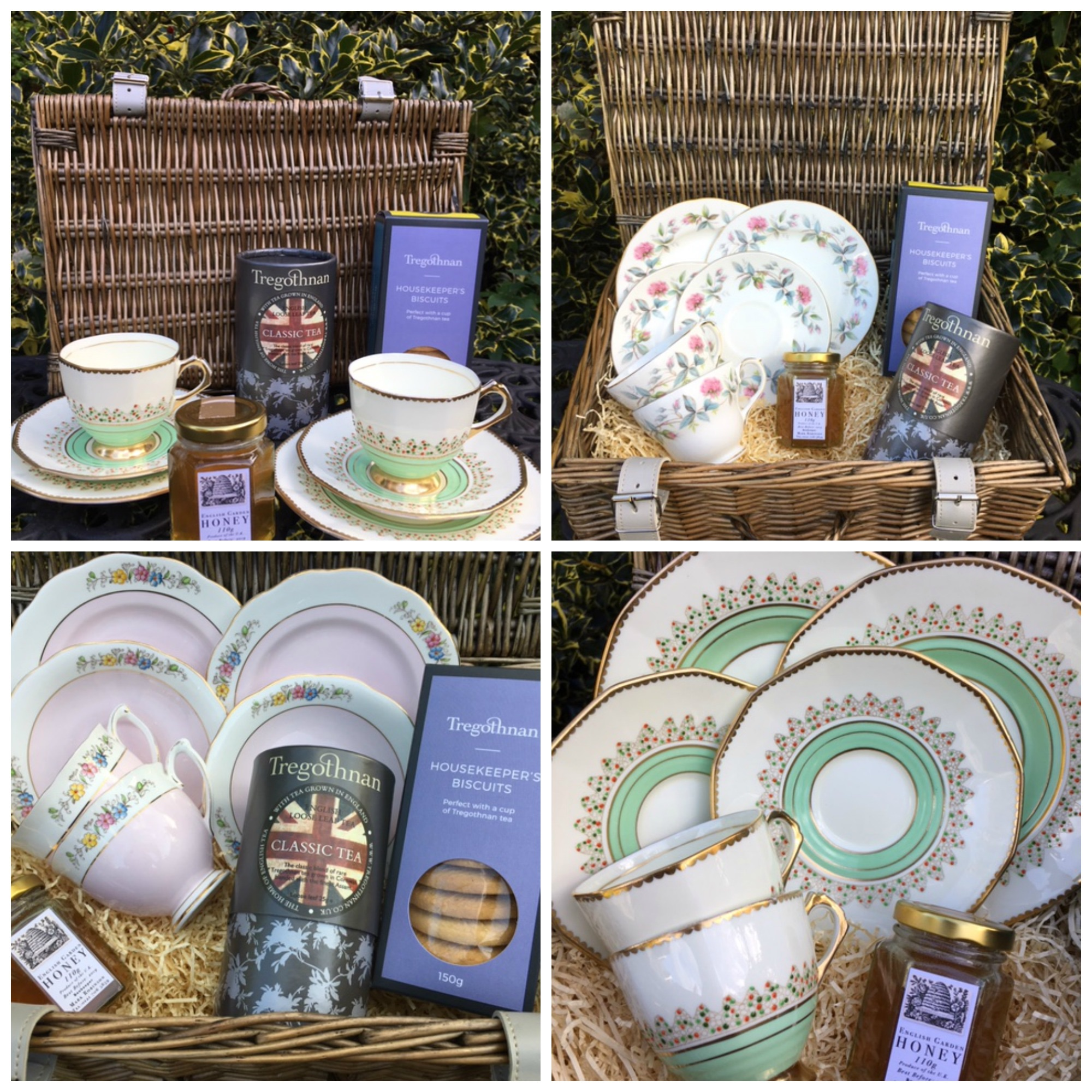 Hampers collage