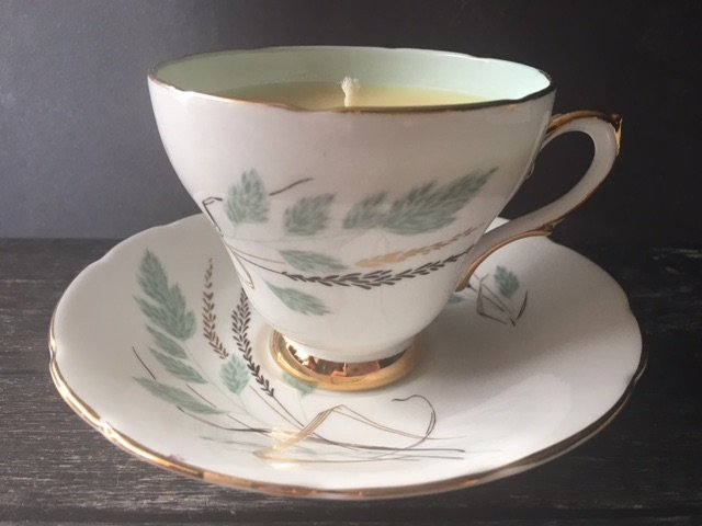 Sutherland bone china, Winter Fruits Teacup Candle