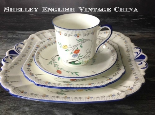 Shelley English Vintage China