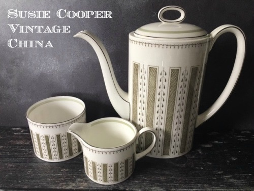 Susie Cooper English Vintage China and Earthenware