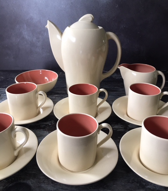 Susie Cooper Kestrel Shape Complete Coffee Set