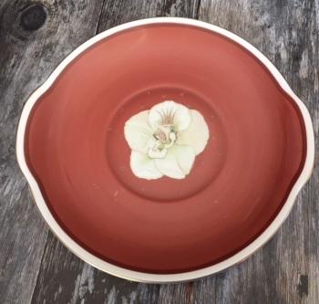 "Susie Cooper ""Azalea"" Cake Plate"