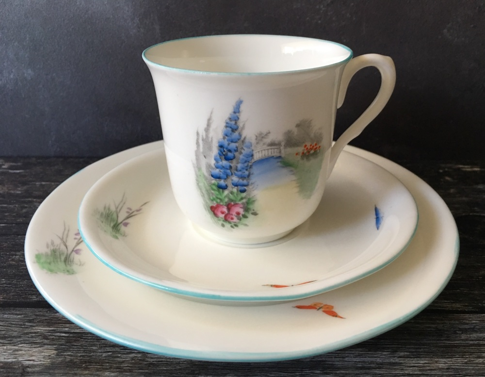 Shelley English Bone China, Tea for Two Set