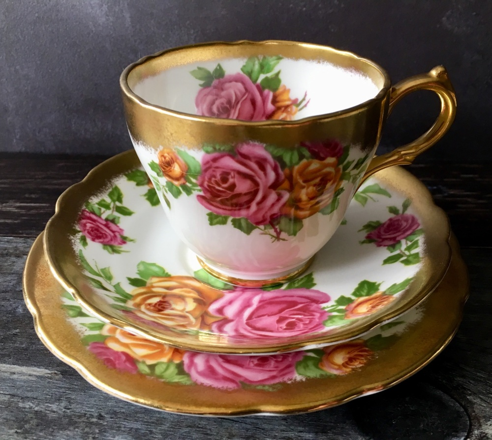 Grosvenor Bone China, Tea For One Set