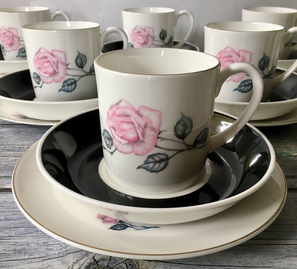 Susie Cooper Tea Set for Six