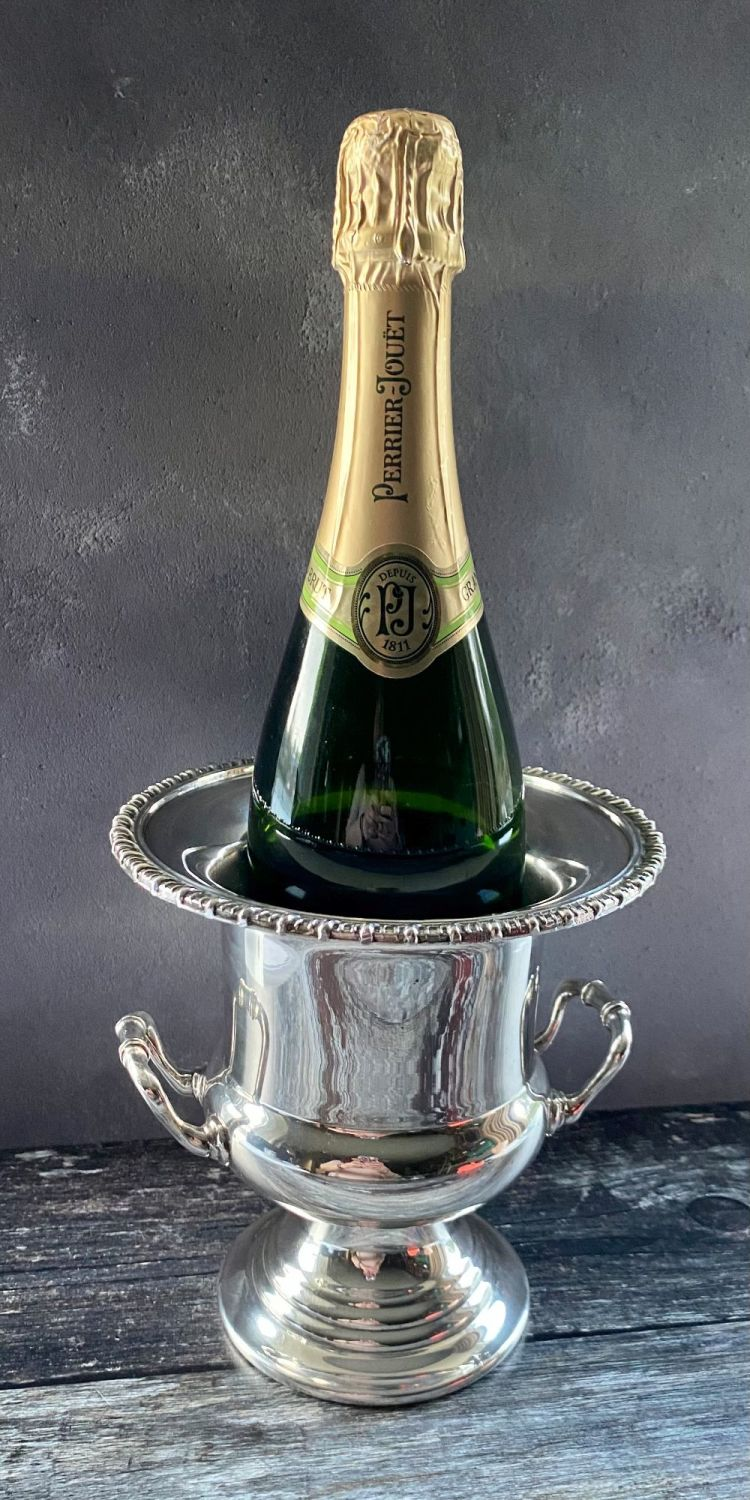 Silver Plated Wine or Champagne Cooler