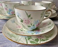 Crown Staffordshire Bone China Tea Set for Six