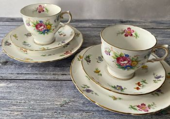 """Plant Tuscan """"Bouquet"""" Tea for Two Set"""