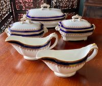 Collection of Antique Royal Worcester Vitreous Serveware