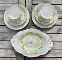 Plant Tuscan Tea for Two Set with Oval Cake Plate