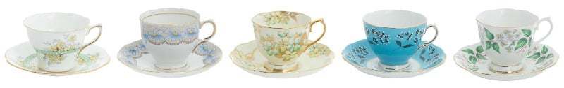 vintage china teacups, vintage china, vintage china tea sets
