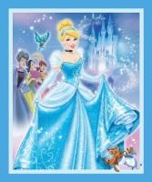Disney Fabric - Cinderella Panel - 100% Cotton