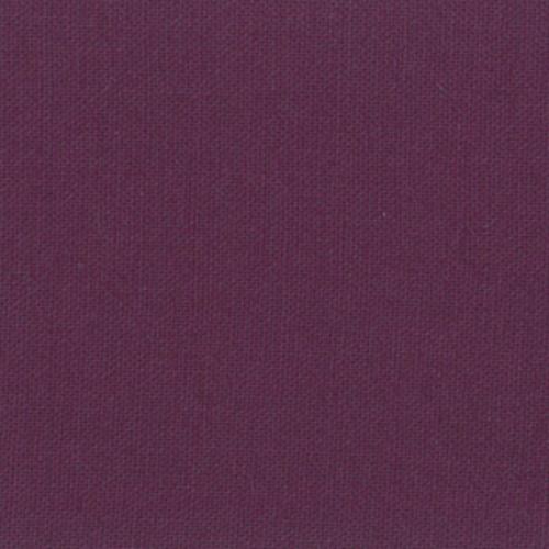 Moda Fabric - Bella Solids - Eggplant - 100% Cotton