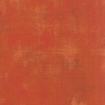Moda Fabric - Grunge - Pumpkin - 100% Cotton