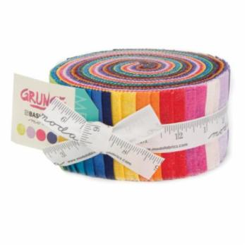 Moda Fabric - Grunge New Colours - Jelly Roll - 100% Cotton