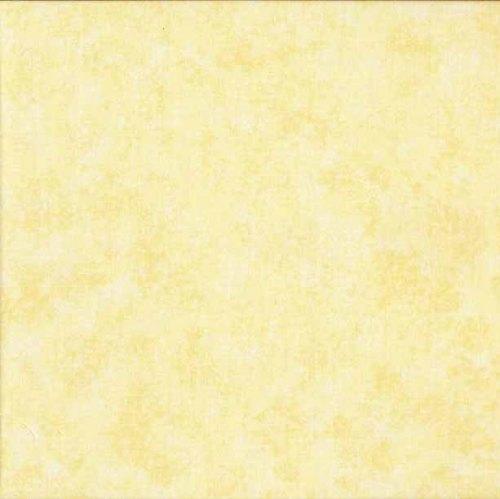 Makower Fabric - Spraytime - Pale Lemon - 100% Cotton