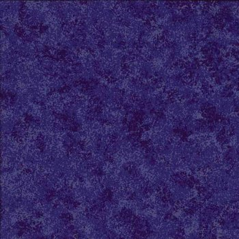 Makower Fabric - Spraytime - Royal Blue 2800 B08 - 100% Cotton